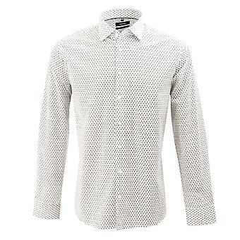 Seidensticker Mini Paisley Geometric Patterned Mens Business Shirt
