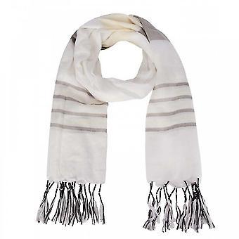 Oui Quaste Rand Farbe Panel langer Schal