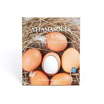 Vitamasques Sleep In 3d Masks-Egg (2 pods) + Moisturising