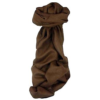 MENS Fine Cashmere Scarf Chocolate by Pashmina & Silk