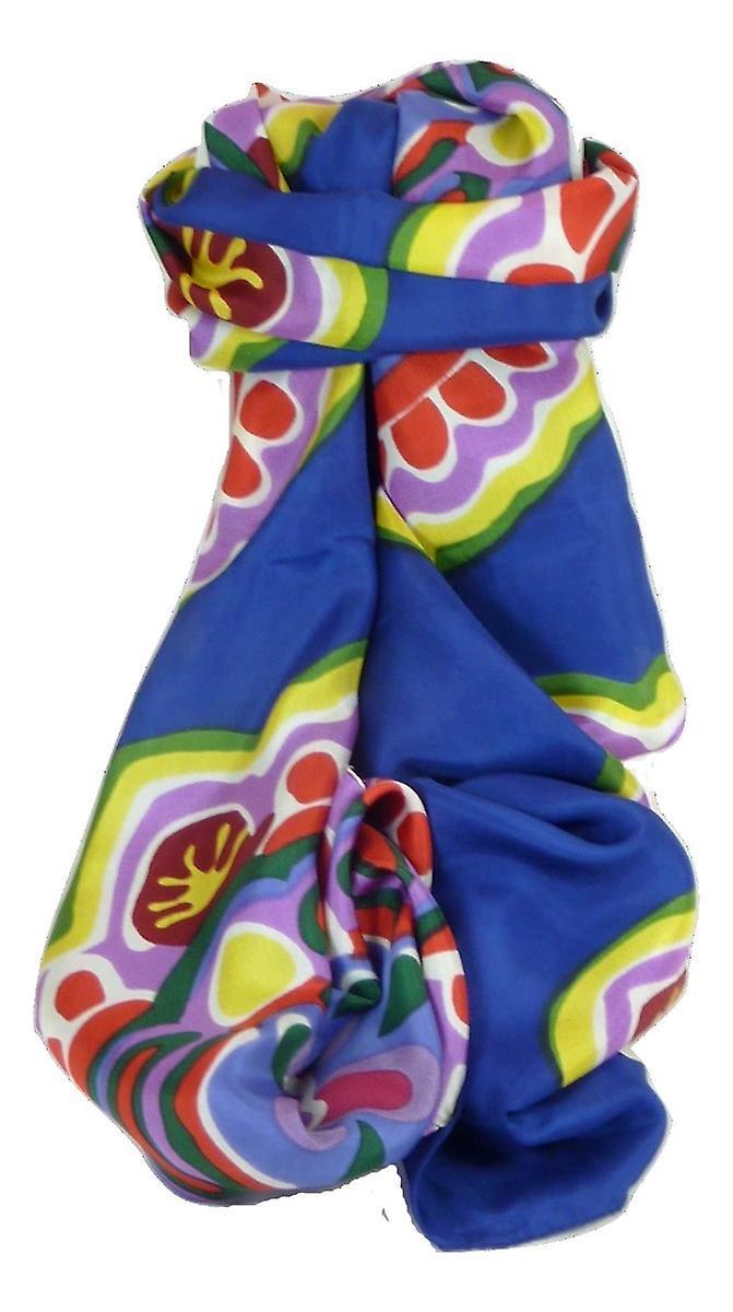 Mulberry Silk Classic Long Scarf Anju Multicoloured by Pashmina & Silk
