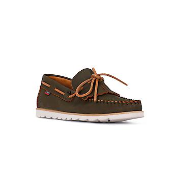 Callahan kaki boat shoes