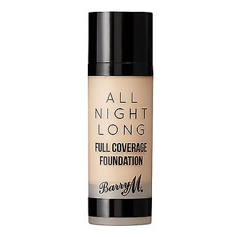 Barry M All Night Long Full Coverage Foundation-Cashew