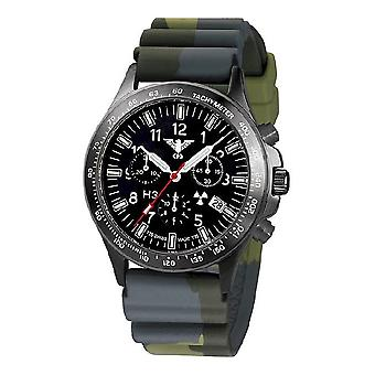 השעון השחור של שעונים מחלקה שחור טיטאן הכרונוגרף-סיקים. . אני מבין. DC3