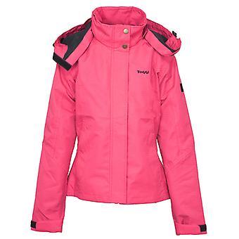 Toggi Allerton damas impermeabilizan chaqueta rosa