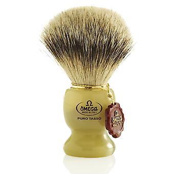 Omega 621 1ste klasse Super Badger hår barbering pensel
