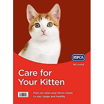 Opieka dla Twojego kociaka (RSPCA pieścić przewodnik)
