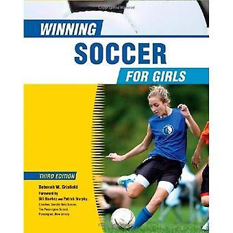Vinnande fotboll för flickor (vinnande sport för flickor)