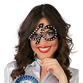 Età di pietra miliare delle donne degli uomini adulti occhiali compleanno costume accessorio