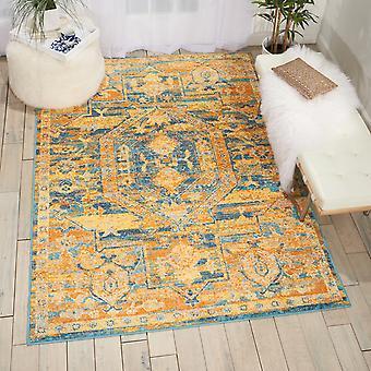 Passie Nourison PSN07 Teal zon rechthoek tapijten Funky tapijten