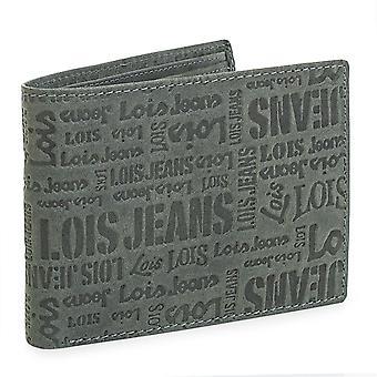 Portefeuille en cuir véritable de masculine Lois 11701