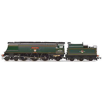 Hornby R3638 BR West Country 4-6-2 34019 Bideford