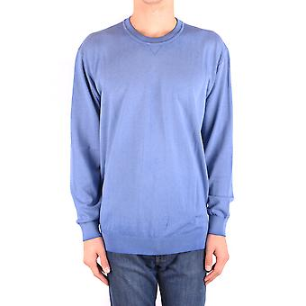 Altea Ezbc048115 Men's Light Blue Cotton Sweater