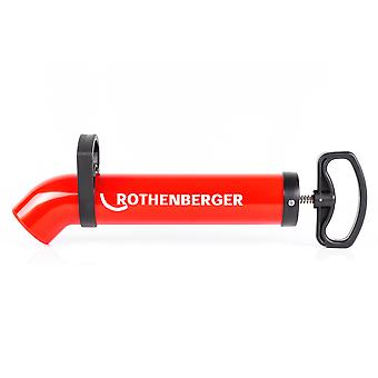Rothenberger Suction and Pressure Cleaner | Professional Pipe Cleaner Pump | Drain cleaner RoPump Super Plus X incl. 2 adapters