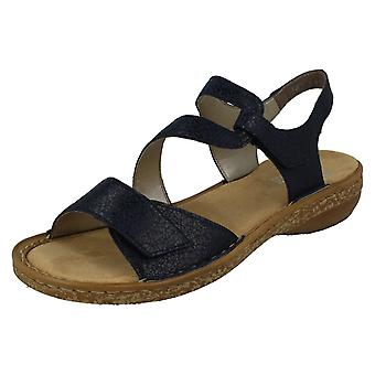 00930bb71e0 Ladies Rieker Stylish Strappy Sandals 628J1