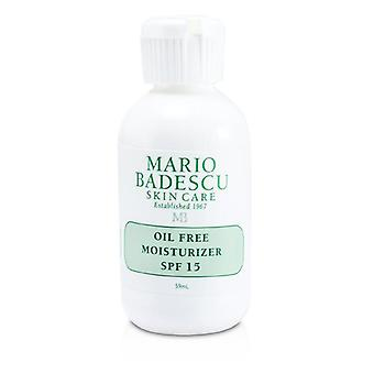 Mario Badescu Oil Free Moisturizer Spf 17 - For Combination/ Oily/ Sensitive Skin Types - 59ml/2oz