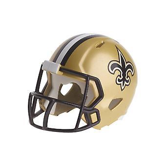 Cascos de Riddell speed pocket football - NFL New Orleans Saints