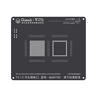 QianLi 3D BGA Stencil Template - A8 CPU Module - iPhone 6 - BMW750