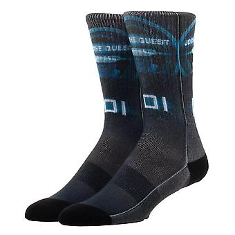 Ready Player One IOI Crew Socks-ONE SIZE