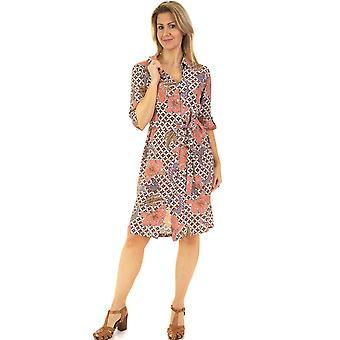 POMODORO Dress 81939 Coral