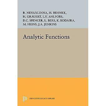 Analytic Functions by Lars Valerian Ahlfors - 9780691626116 Book