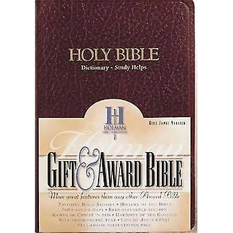 Holy Bible - KJV Gift and Award Bible - Imitation Leather by Broadman &