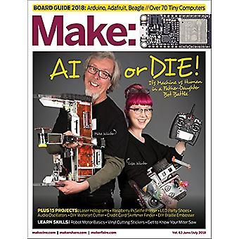 Make - Volume 63 by Make - Volume 63 - 9781680455199 Book