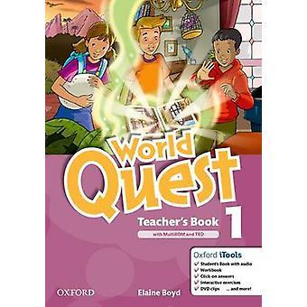 World Quest - 1 - Teacher's Book Pack - 9780194125871 Book