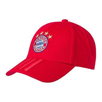 2019-2020 Bayern Munich Adidas 3S Cap (Red)