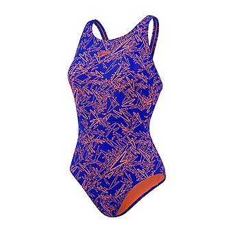 Speedo Boom Allover Muscleback Swimwear For Girls