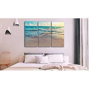 Maalaus - Ranta Punta Canassa (3 osaa)120x80