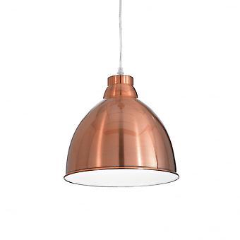 Ideell Lux Navy enkelt anheng lys kobber