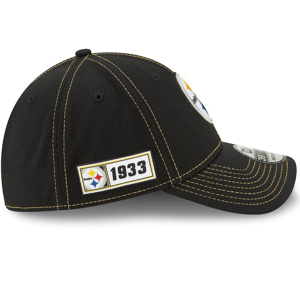 New Era NFL Onfield Sl Rd 39Thirty Cap ~ Pittsburgh Steelers