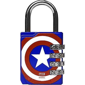 Performa Ultra Premium geprägt 4-Dial Combination Gym Lock - Captain America