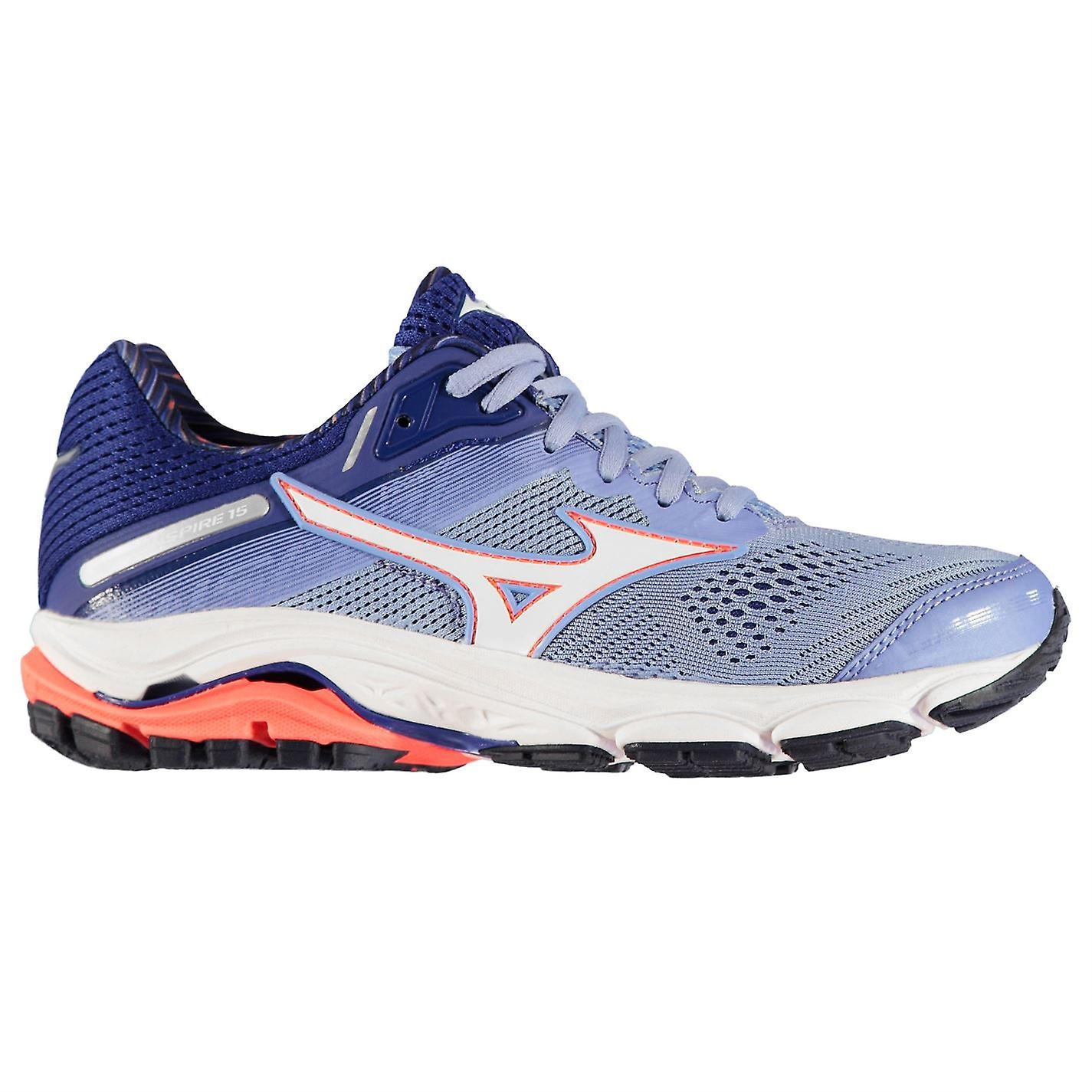Mizuno Womens Wave Inspire 15 Ladies Running Shoes Sports Trainers Sneakers MR5Zy