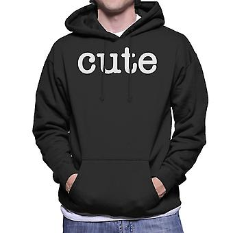 Cute Men's Hooded Sweatshirt