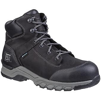 Timberland Pro Mens Hypercharge Lace Up Safety Boot Zwart