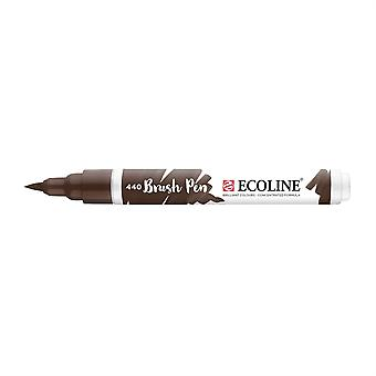 Talens Ecoline Liquid Watercolour Brush Pen - 440 Sepia Deep