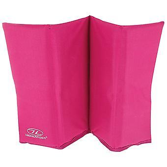 Highlander pink folde sit mat