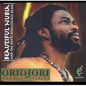 Beautiful Nubia & the Roots Renaissance Band - Oriojori-Eternal Spirits [CD] USA import