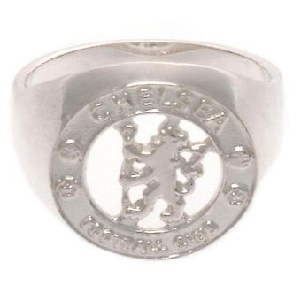 Chelsea FC Sterling Silver Ring