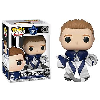 NHL Maple Leafs Frederik Anderson Pop! Vinyl