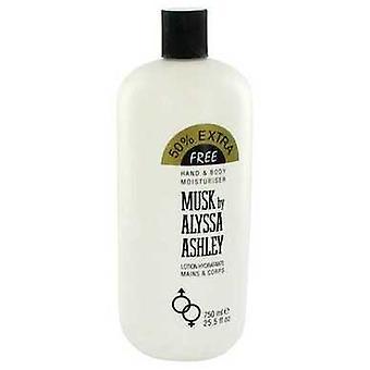 Alyssa Ashley Musk By Houbigant Body Lotion 25.5 Oz (women) V728-457127