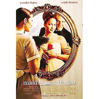 Maid In Manhattan (Double Sided Regular) Original Cinema Poster