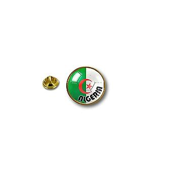 Pine PineS PIN rinta nappi PIN-apos; s Metal biker biker lippu ilma pallo jalka Algerie
