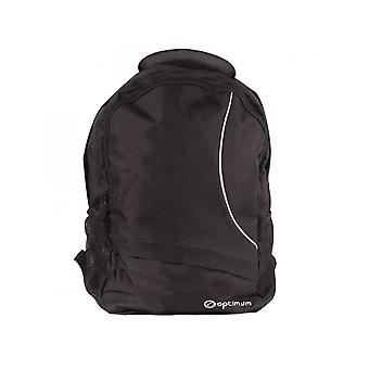 Optimum Sports Carry Handle Multiple Zip Pockets One Size Sports Backpack