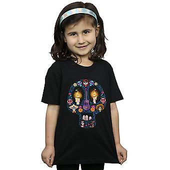 Disney Girls Coco Candle Skull T-Shirt