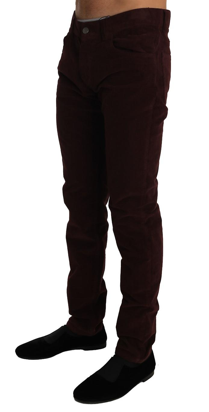 Corduroys Classic Brown Stretch Pants Jeans