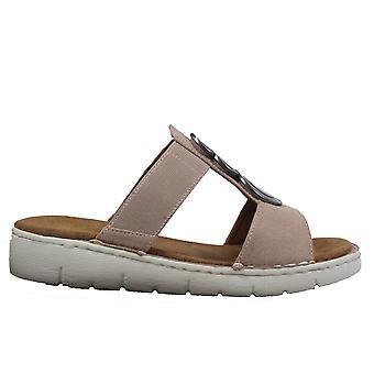 Ara Korsika-Sport 57215-76 Rose Pink Womens Slip On Mule Sandals