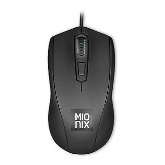 Mionix Avior Optical 5000dpi Gaming Mouse Wired USB Black (MNX-01-27009-G)